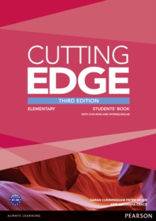 Cutting Edge Elementary Students' Book and DVD Pack, Mixed media product Book