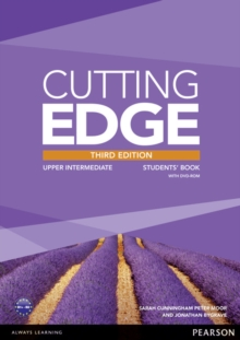 Cutting Edge Upper Intermediate Students' Book and DVD Pack, Mixed media product Book