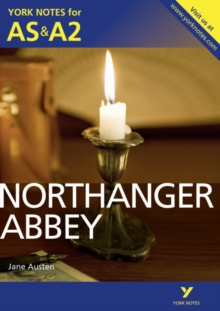 Northanger Abbey: York Notes for AS & A2, Paperback Book