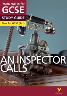 An Inspector Calls: York Notes for GCSE (9-1), Paperback Book