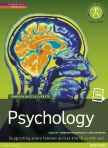 Pearson Baccalaureate: Psychology New Bundle, Mixed media product Book