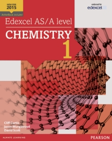 Edexcel AS/A Level Chemistry : Student Book 1 + ActiveBook, Mixed media product Book