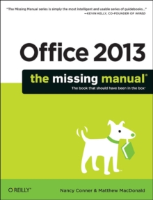 Office 2013: The Missing Manual, Paperback Book