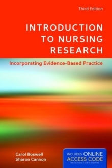 Introduction to Nursing Research, Paperback Book