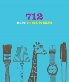 712 More Things to Draw Journal, Diary Book