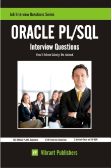ORACLE PL/SQL : Interview Questions You'll Most Likely Be Asked, EPUB eBook