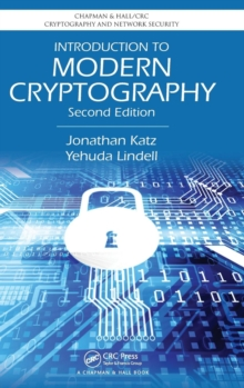 Introduction to Modern Cryptography, Hardback Book