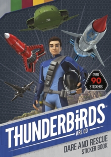 Thunderbirds are Go Sticker Activity 2, Paperback Book