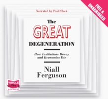 The Great Degeneration, CD-Audio Book
