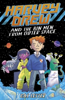 Harvey Drew and The Bin Men From Outer Space, Paperback Book