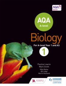 AQA A Level Biology Student : Book 1, Paperback Book