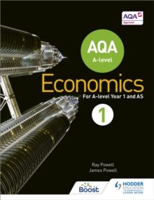 AQA A-level Economics Book 1, Paperback Book
