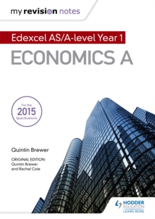 My Revision Notes: Edexcel AS Economics Second Edition, Paperback Book