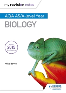 My Revision Notes: AQA as Biology, Paperback Book