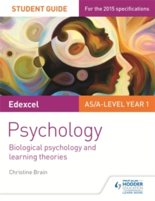 Edexcel Psychology: Biological Psychology and Learning Theories : Student Guide  No.2, Paperback Book