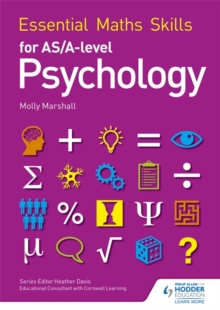 Essential Maths Skills for as/A Level Psychology, Paperback Book