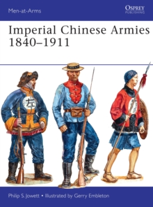 Imperial Chinese Armies 1840-1911, Paperback Book