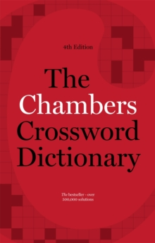 The Chambers Crossword Dictionary, Hardback Book