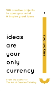 Ideas are Your Only Currency, Hardback Book