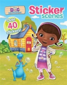 Disney Doc Mcstuffins Sticker Scenes : With Over 40 Stickers!, Paperback Book