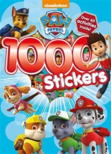 Nickelodeon Paw Patrol 1000 Stickers, Paperback Book