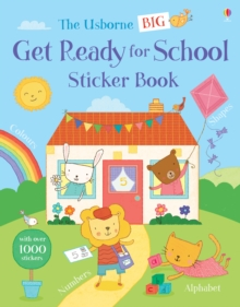 Big Get Ready for School Sticker Book, Paperback Book