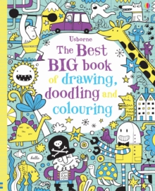 The Best Big Book of Drawing, Doodling and Colouring, Paperback Book