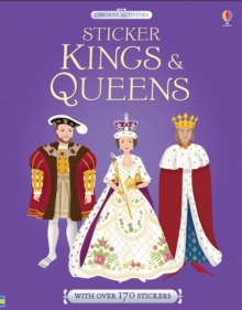 Sticker Dressing Kings & Queens, Paperback Book