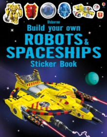 Build Your Own Robots and Spaceships Sticker Book, Paperback Book