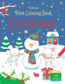 First Colouring Book Christmas, Paperback Book