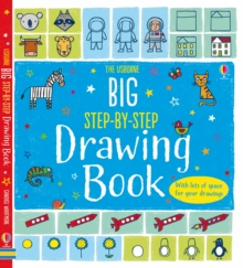 Big Step-by-Step Drawing Book, Paperback Book