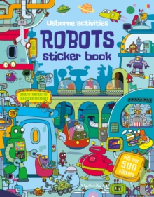 Robots Sticker Book, Paperback Book