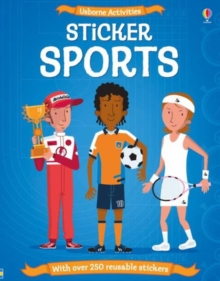 Sticker Dressing Sports, Paperback Book