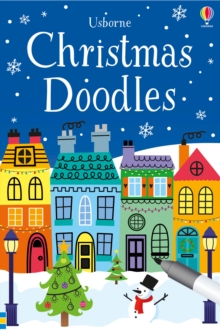 Christmas Doodles, Paperback Book