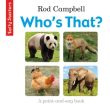 Early Starters: Who's That?, Book Book