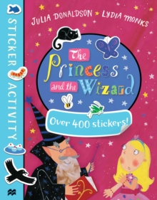 The Princess and the Wizard Sticker Book, Paperback Book
