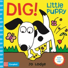 Dig! Little Puppy, Book Book