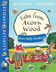 Tales from Acorn Wood Sticker Book, Paperback Book