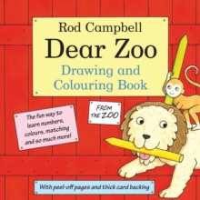 The Dear Zoo Drawing and Colouring Book, Paperback Book