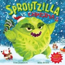 Sproutzilla vs. Christmas, Paperback Book
