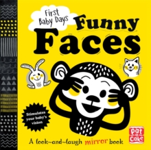 Funny Faces : A Look and Laugh Mirror Board Book, Board book Book