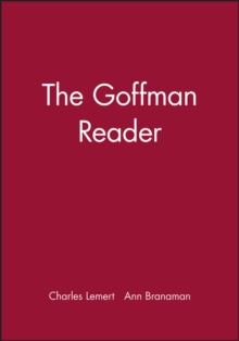 The Goffman Reader, Paperback Book