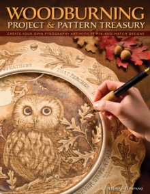 Woodburning Project & Pattern Treasury, Paperback Book