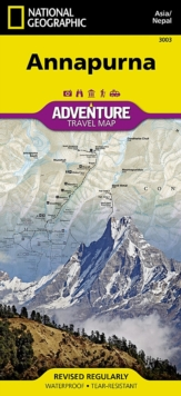 Annapurna, Nepal : Travel Maps International Adventure Map, Sheet map, folded Book