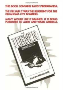 The Turner Diaries, Paperback Book