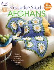 Crocodile Stitch Afghans, Paperback Book