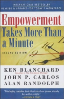 Empowement Takes More Than a Minute, Paperback Book
