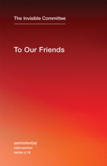 To Our Friends, Paperback Book