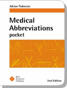 Medical Abbreviations Pocket, Paperback Book