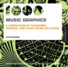 1,000 Music Graphics (Mini) : A Compilation of Packaging, Posters, and Other Sound Solutions, Paperback Book